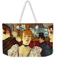 La Goulue Arriving At The Moulin Rouge With Two Women Weekender Tote Bag