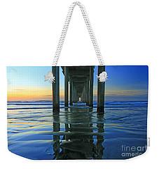 La Jolla Blue  Weekender Tote Bag