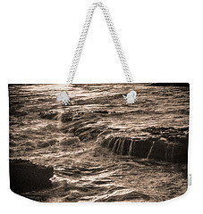 Weekender Tote Bag featuring the photograph La Jolla Sunset by Samuel M Purvis III