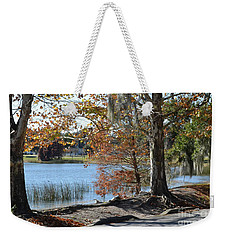Weekender Tote Bag featuring the photograph Lake Bonny by Carol  Bradley