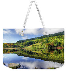 Lake Geirionydd Weekender Tote Bag by Ian Mitchell