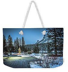 Weekender Tote Bag featuring the photograph Lake Louise by Bill Howard