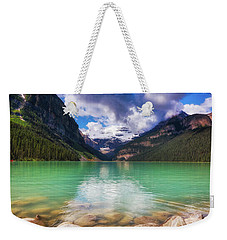 Lake Louise Is Really Green Weekender Tote Bag