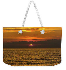 Lake Michigan Sunset  Weekender Tote Bag