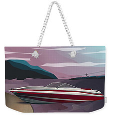 Lake Norman Poster  Weekender Tote Bag