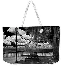 Weekender Tote Bag featuring the photograph Lake View by Lewis Mann