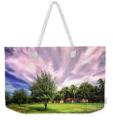 Weekender Tote Bag featuring the photograph Landscape  by Charuhas Images