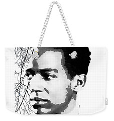 Langston Hughes Weekender Tote Bag by Asok Mukhopadhyay