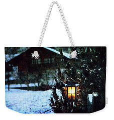 Lantern In The Woods Weekender Tote Bag