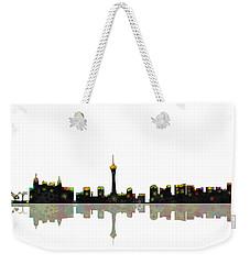 Las Vegas Nevada Skyline Weekender Tote Bag