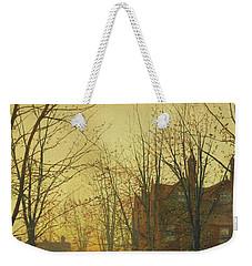 Late October Weekender Tote Bag