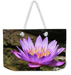 Lavender Water Lily #4 Weekender Tote Bag