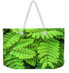 Weekender Tote Bag featuring the photograph Leaves by Charuhas Images