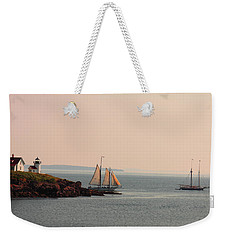 Leaving Camden Harbor Weekender Tote Bag