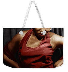 Weekender Tote Bag featuring the photograph Leontyne Price by Granger