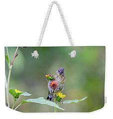 Lesser Goldfinch 4036 Weekender Tote Bag