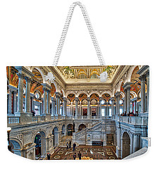 Library Of Congress Weekender Tote Bag