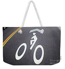 Life In The Bike Lane Weekender Tote Bag