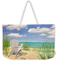 Life Is A Beach Weekender Tote Bag by Diane Diederich
