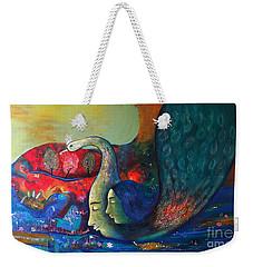 Life Weekender Tote Bag by Sanjay Punekar