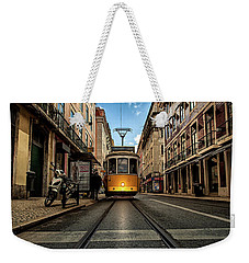 Light Weekender Tote Bag by Jorge Maia