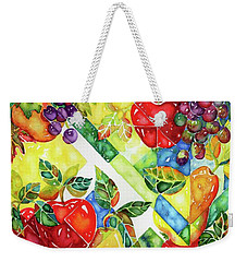 Light Through Glass Weekender Tote Bag