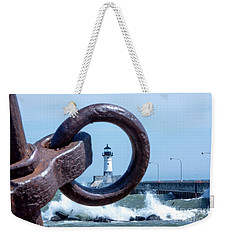 Lighthouse Thru The Hole Weekender Tote Bag