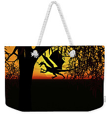 Lights And Shadow Weekender Tote Bag by Michele Wilson