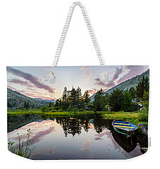 Lily Lake Weekender Tote Bag