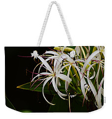Lily Of The Nile Macro Weekender Tote Bag by Warren Thompson