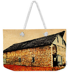 Lime Stone Barn Weekender Tote Bag