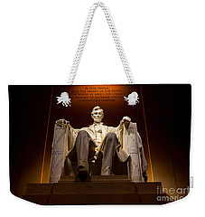 Lincoln Memorial At Night - Washington D.c. Weekender Tote Bag