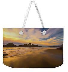 Lines In The Sand Weekender Tote Bag