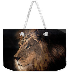Lion King Of The Jungle Weekender Tote Bag