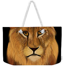Lion - The King Of The Jungle Weekender Tote Bag