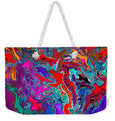 Liquid Color Weekender Tote Bag