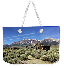 Weekender Tote Bag featuring the photograph Little House by Joseph G Holland
