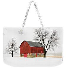 Little Red Barn Weekender Tote Bag