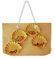 Little Shell Plate Weekender Tote Bag