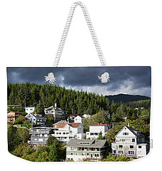 Living In Alaska Weekender Tote Bag