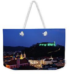 Ljubljana Castle Weekender Tote Bag