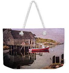 On The Waterfront Weekender Tote Bag