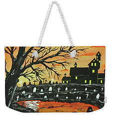 Loch Ness Monster This  Halloween Weekender Tote Bag by Jeffrey Koss