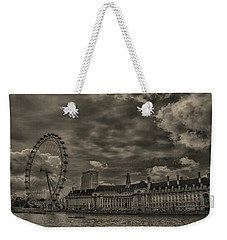 London Eye Weekender Tote Bag by Martin Newman