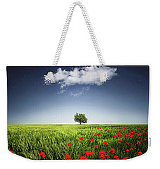 Lone Tree A Poppies Field Weekender Tote Bag