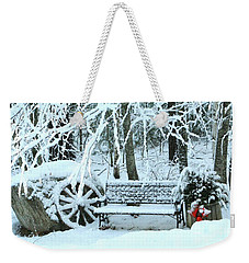 Lonely In Winter Weekender Tote Bag