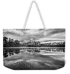 Long Pine Bw Weekender Tote Bag by Jon Glaser