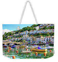 Looe In Cornwall Uk Weekender Tote Bag