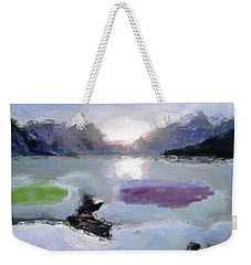 Looking Out Into The Bay Weekender Tote Bag