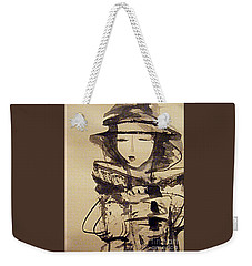 Lost In Thought Weekender Tote Bag by Nancy Kane Chapman
